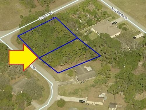 985-991 Two Lots On Hattaras Terrace SE, Palm Bay, FL 32909